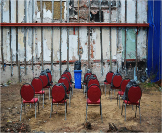 Public Speech. Ubicación: Ucrania. www.biancoshock.com